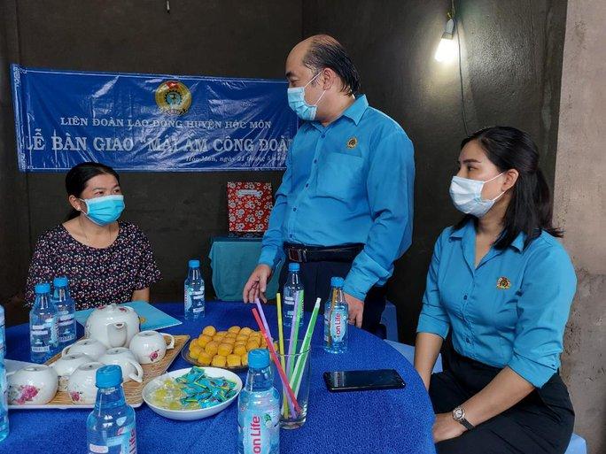 Chăm lo cho đoàn viên- lao động nghèo trong Tháng Công nhân - Ảnh 6.
