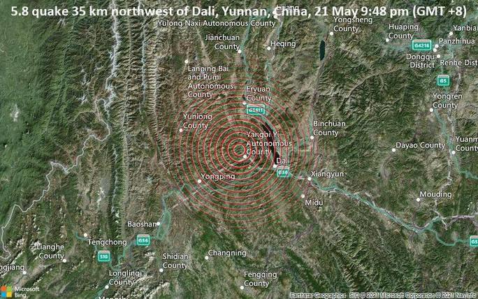 Động đất ở Trung Quốc, hàng ngàn binh sĩ lập tức cứu hộ - Ảnh 1.