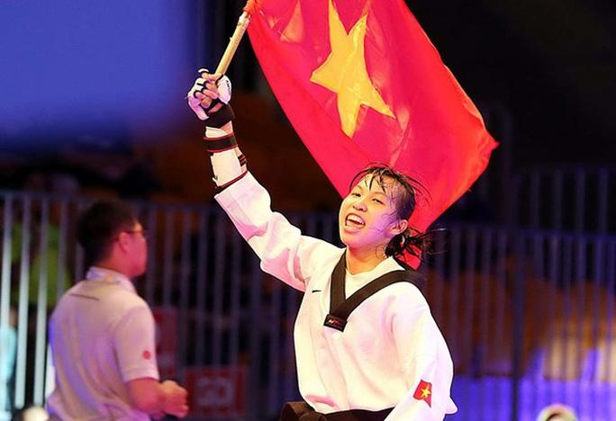 Trương Thị Kim Tuyền giành vé đến Olympic Tokyo 2021 cho Taekwondo Việt Nam - Ảnh 1.