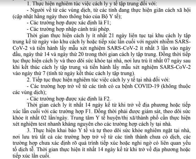 Đắk Lắk: Cứ về từ tỉnh, thành có ca bệnh Covid-19 là phải cách ly y tế - Ảnh 2.