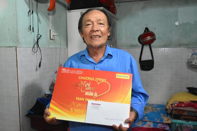 Mai Vàng nhân ái thăm NSND Hoàng Phi Long và nghệ sĩ Bửu Khánh - Ảnh 6.