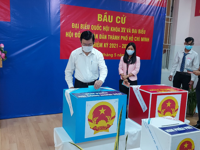 Phóng sự ảnh: Lãnh đạo Đảng, Nhà nước đi bầu cử - Ảnh 14.