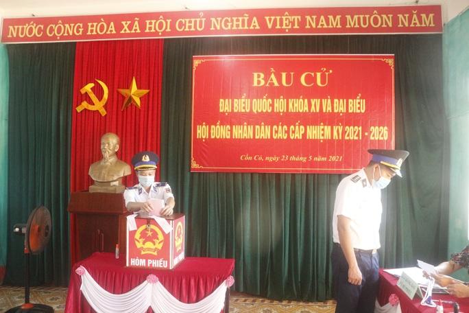 Bộ Tư lệnh Vùng Cảnh sát biển 2 hoàn thành tốt công tác bầu cử - Ảnh 4.