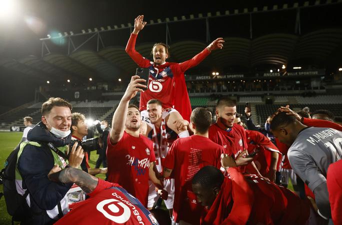 PSG bị truất ngôi vương Ligue 1 sau 3 năm liên tiếp thống trị - Ảnh 5.