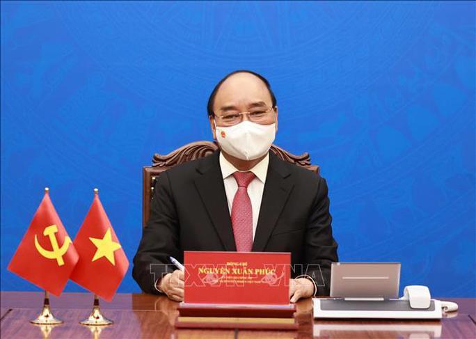 Chủ tịch nước Nguyễn Xuân Phúc mời Tổng Bí thư, Chủ tịch Trung Quốc Tập Cận Bình thăm Việt Nam - Ảnh 2.