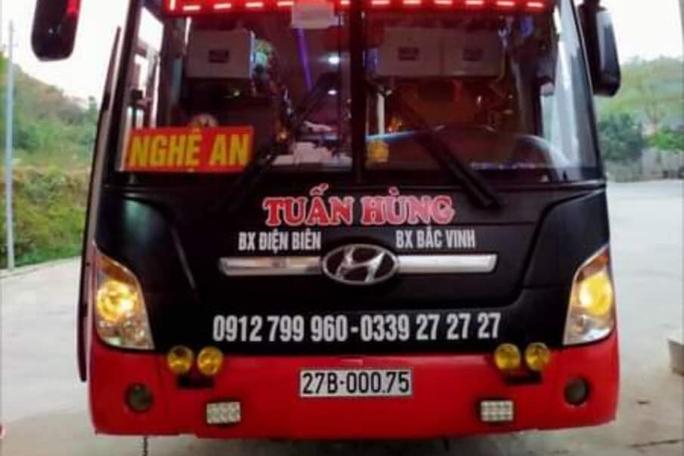 KHẨN: Tìm người liên quan xe khách tuyến Nghệ An-Điện Biên có ca mắc Covid-19 - Ảnh 1.