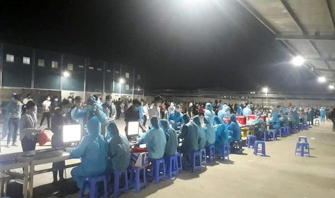 Thêm 107 ca dương tính SARS-CoV-2, đã có 1 công nhân tử vong và nhiều bệnh nhân chiều hướng nặng - Ảnh 1.