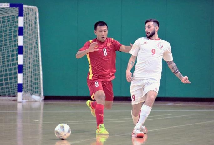 Việt Nam lần thứ hai đoạt vé dự VCK Futsal World Cup - Ảnh 1.