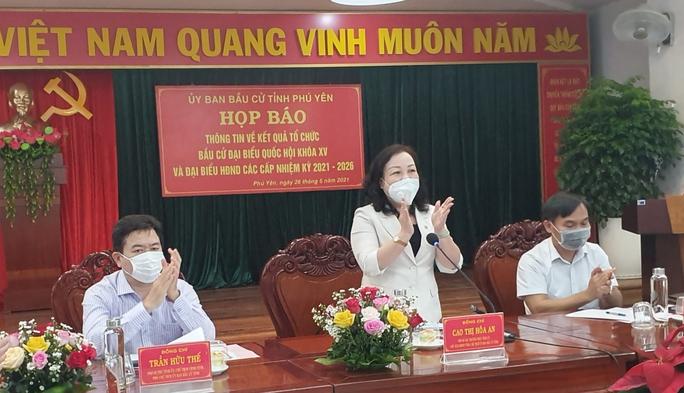 Danh sách 50 đại biểu trúng cử HĐND tỉnh Phú Yên - Ảnh 1.