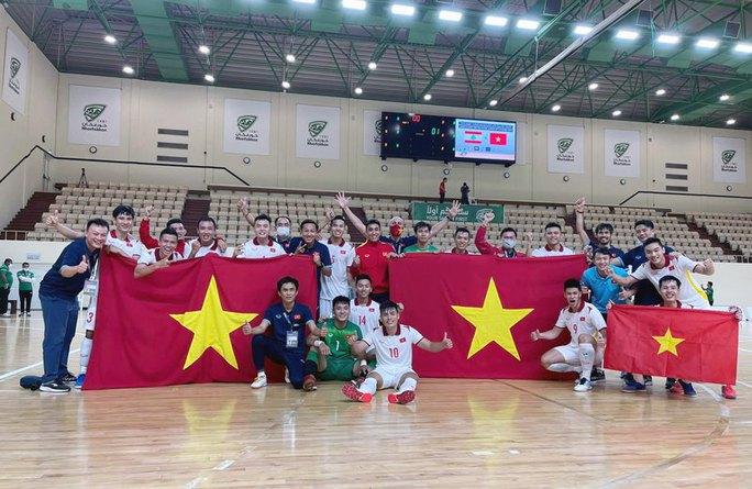 Việt Nam lần thứ hai đoạt vé dự VCK Futsal World Cup - Ảnh 5.