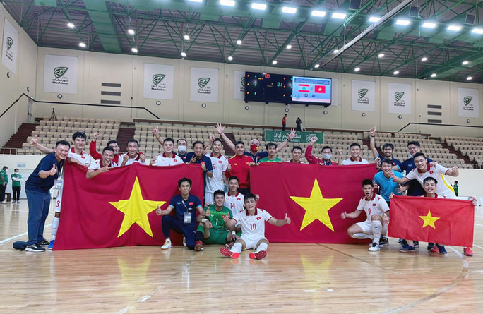 Kỳ tích của futsal Việt Nam - Ảnh 1.