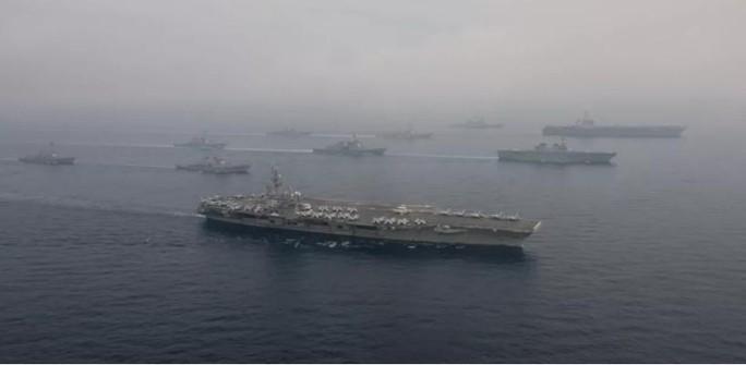 25.000 thủy quân lục chiến Mỹ tập kịch bản xung đột trên biển với Trung Quốc và Nga - Ảnh 1.