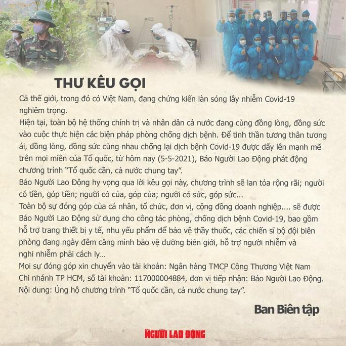 Báo Người Lao Động tiếp sức lực lượng chống dịch Covid-19 quận Bình Tân - Ảnh 9.