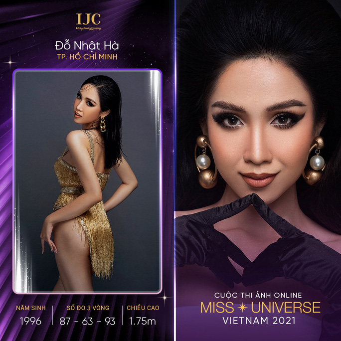 Dàn thí sinh nổi bật cuộc thi ảnh online Hoa hậu Hoàn vũ Việt Nam 2021 - Ảnh 1.