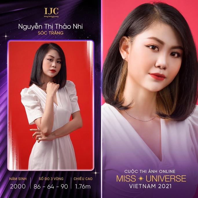 Dàn thí sinh nổi bật cuộc thi ảnh online Hoa hậu Hoàn vũ Việt Nam 2021 - Ảnh 6.