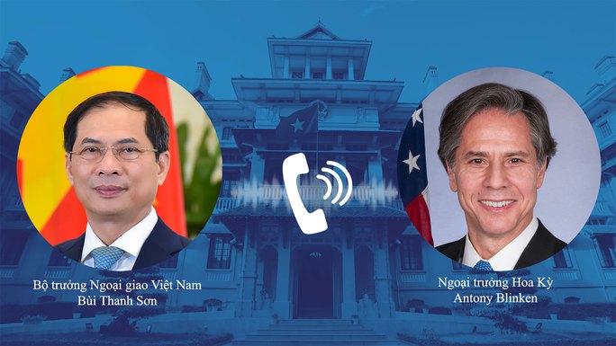 Ngoại trưởng Antony Blinken: Mỹ sẽ hỗ trợ các nước và Việt Nam tiếp cận vắc-xin - Ảnh 1.