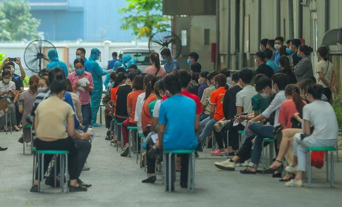 Bộ Y tế thí điểm loạt biện pháp xét nghiệm, cách ly tại tâm dịch Bắc Giang, Bắc Ninh - Ảnh 1.