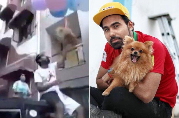 YouTuber nổi tiếng bị bắt sau khi buộc chó cưng vào bóng bay - Ảnh 4.