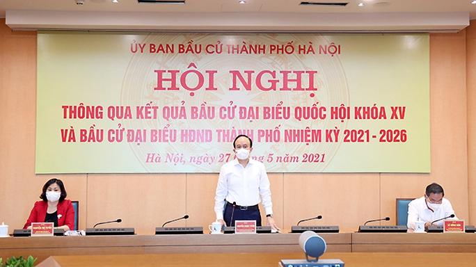 Hà Nội công bố 95 người trúng cử HĐND thành phố nhiệm kỳ 2021-2026 - Ảnh 1.