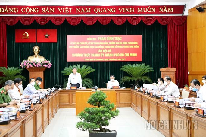 Ban Nội chính Trung ương đề nghị đẩy nhanh xử lý các vụ việc lớn như Thủ Thiêm, SAGRI, Tân Thuận - Ảnh 2.