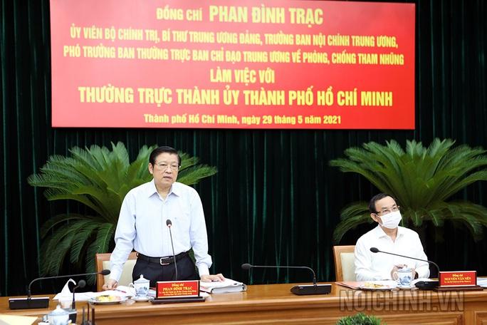 Ban Nội chính Trung ương đề nghị đẩy nhanh xử lý các vụ việc lớn như Thủ Thiêm, SAGRI, Tân Thuận - Ảnh 1.