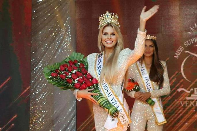 Cận cảnh nhan sắc tân Hoa hậu Siêu quốc gia Venezuela - Ảnh 2.