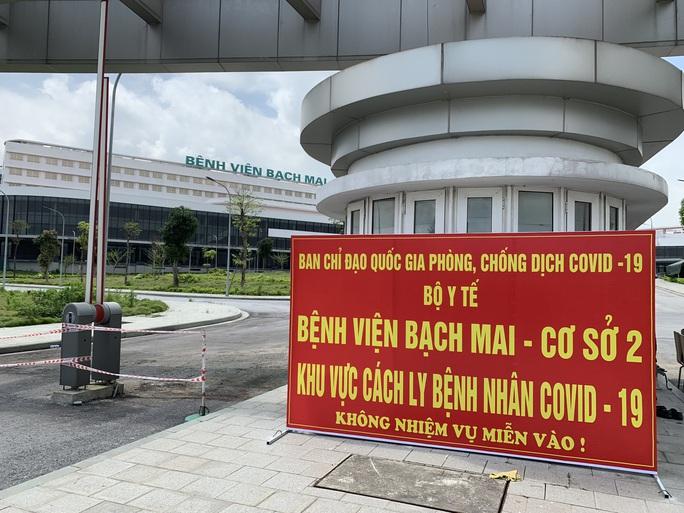 Chuyển 151 F1 của ca bệnh Covid-19 siêu lây nhiễm đến Bệnh viện Bạch Mai cơ sở 2 - Ảnh 4.