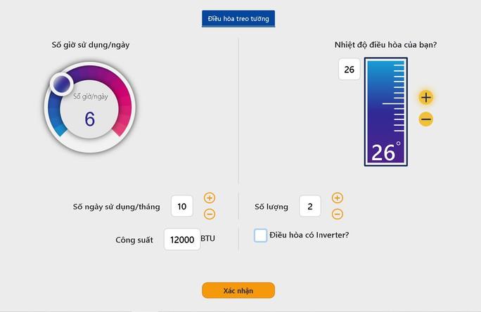 Người dân ước tính điện năng tiêu thụ, tránh hoá đơn tăng sốc mùa nắng nóng - Ảnh 1.