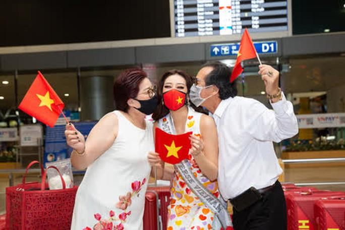 Hoa hậu Khánh Vân lên đường sang Mỹ chinh phục Miss Universe - Ảnh 6.