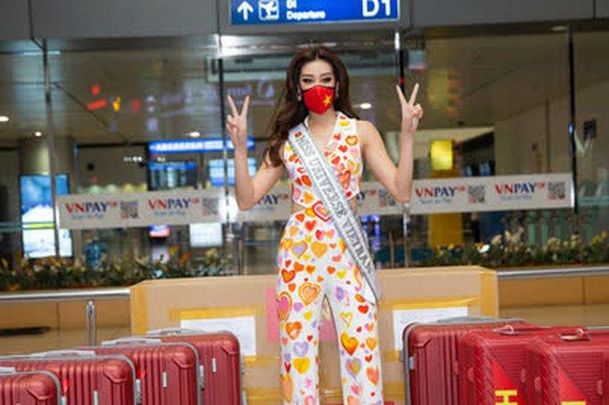 Hoa hậu Khánh Vân lên đường sang Mỹ chinh phục Miss Universe - Ảnh 3.