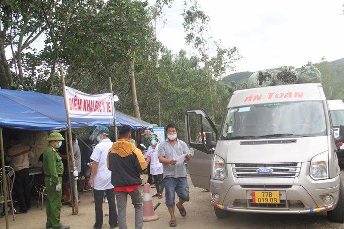 Bình Định bắt đầu cách ly y tế những người đến - về từ TP HCM - Ảnh 1.
