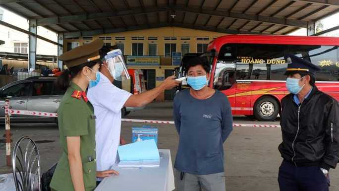 Bình Định bắt đầu cách ly y tế những người đến - về từ TP HCM - Ảnh 2.