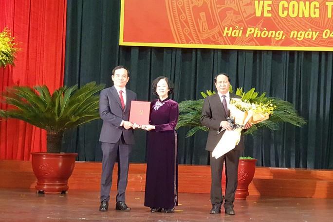 Phó Bí thư Thường trực Thành ủy TP HCM Trần Lưu Quang làm Bí thư Thành ủy Hải Phòng - Ảnh 3.