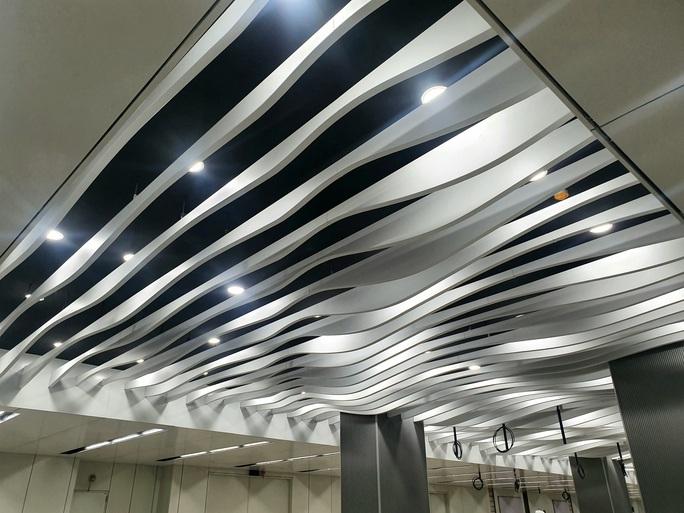 Kiến trúc ấn tượng bên trong ga Ba Son sâu 20m dưới lòng đất - Ảnh 7.
