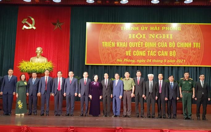 Phó Bí thư Thường trực Thành ủy TP HCM Trần Lưu Quang làm Bí thư Thành ủy Hải Phòng - Ảnh 1.