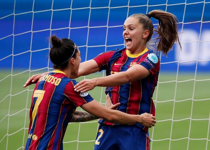 Thắng kịch tính PSG, Barcelona giành vé chung kết Champions League nữ  - Ảnh 3.