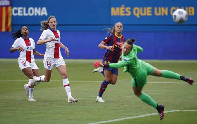Thắng kịch tính PSG, Barcelona giành vé chung kết Champions League nữ  - Ảnh 1.