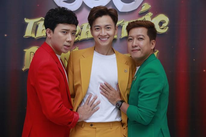 NSƯT Hoài Linh song kiếm hợp bích với Minh Nhí tại Thách thức danh hài mùa 7 - Ảnh 1.