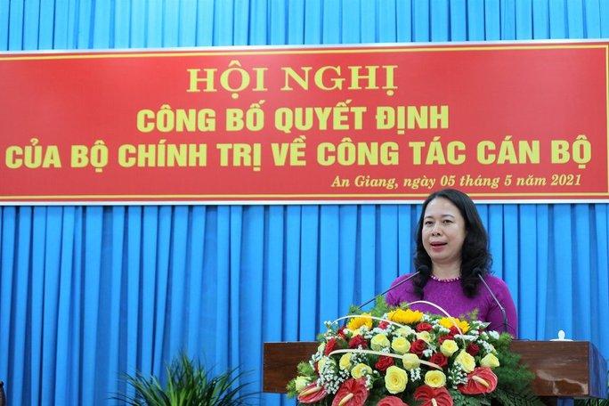 Phó Chánh án TAND Tối cao giữ chức Bí thư Tỉnh ủy An Giang - Ảnh 1.
