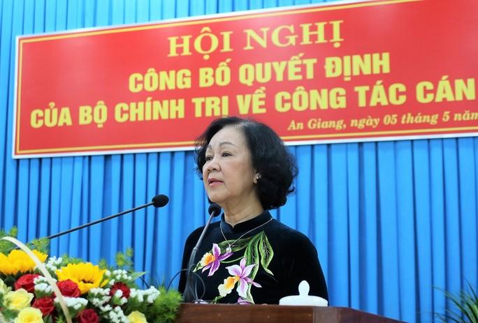 Phó Chánh án TAND Tối cao giữ chức Bí thư Tỉnh ủy An Giang - Ảnh 2.