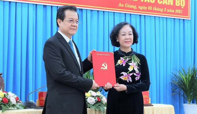 Phó Chánh án TAND Tối cao giữ chức Bí thư Tỉnh ủy An Giang - Ảnh 3.