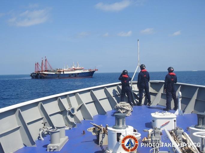 Philippines phản ứng mạnh Trung Quốc - Ảnh 1.