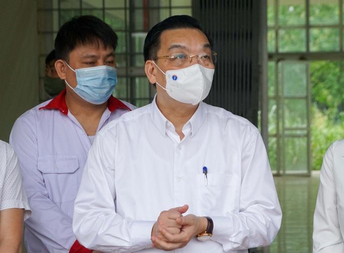 CLIP: Cận cảnh bên trong Bệnh viện dã chiến Mê Linh và sẵn sàng tiếp nhận 300 người F1 - Ảnh 5.