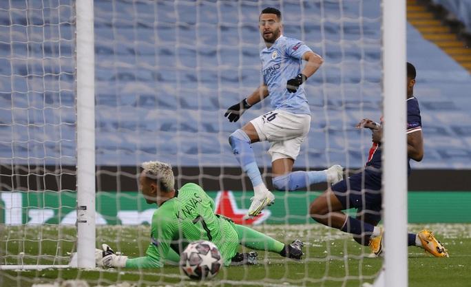 Mahrez lập cú đúp hạ PSG, Man City giành vé chung kết lịch sử - Ảnh 3.