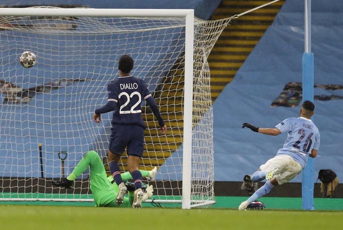 Mahrez lập cú đúp hạ PSG, Man City giành vé chung kết lịch sử - Ảnh 5.