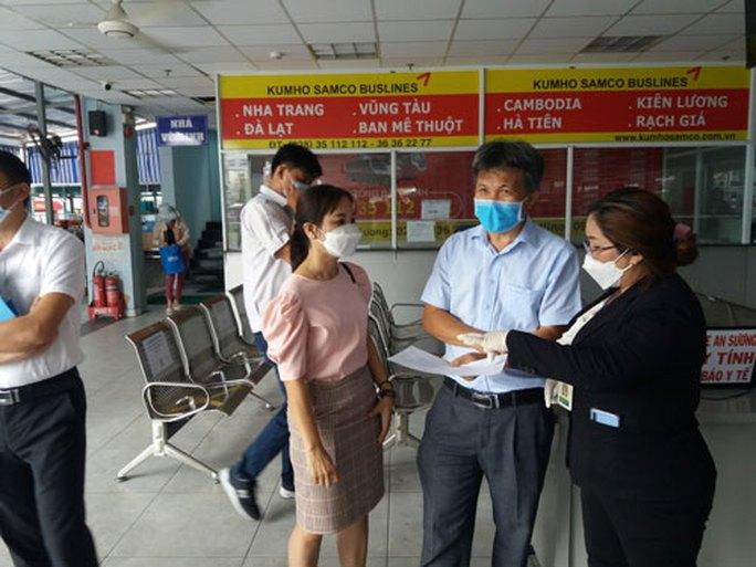 TP HCM: Chấn chỉnhviệc phòng chống dịch ở Bến xe An Sương - Ảnh 1.