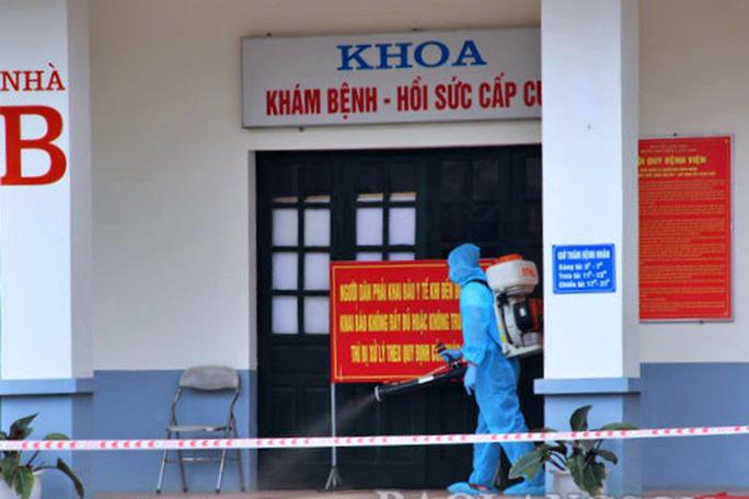 Phong tỏa toàn bộ Bệnh viện Phổi Lạng Sơn - Ảnh 1.
