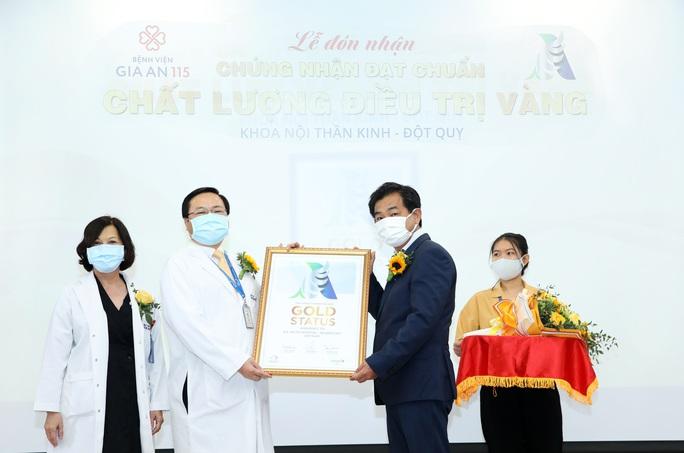 TP HCM: Thêm một bệnh viện đạt chứng nhận chất lượng điều trị Vàng quốc tế về đột quỵ - Ảnh 1.