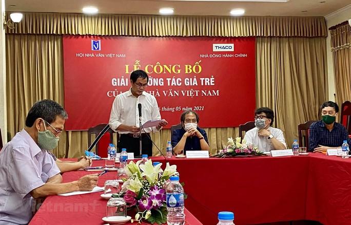Hội Nhà văn Việt Nam công bố Giải thưởng Tác giả trẻ - Ảnh 1.