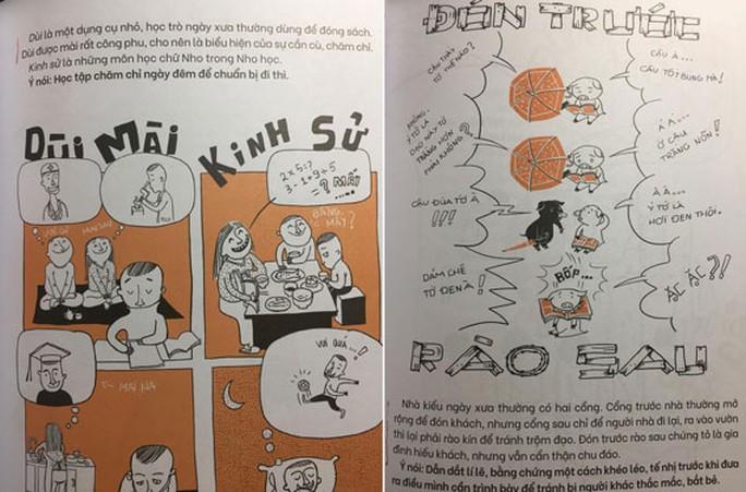 NXB Kim Đồng dừng phát hành Thành ngữ bằng tranh do nhiều sai sót - Ảnh 2.